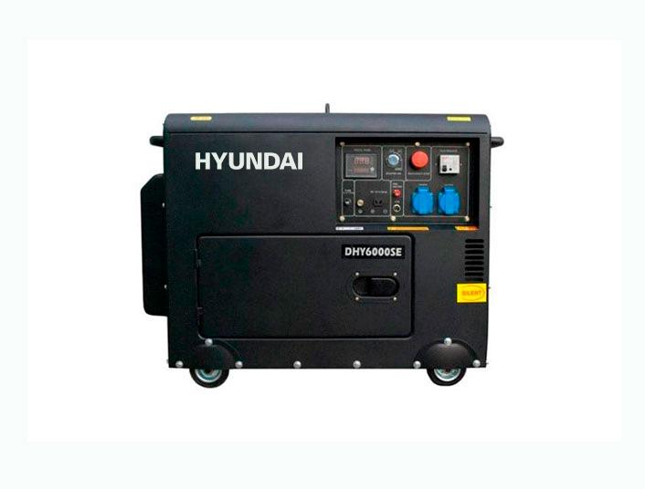 Hyundai DHY6000SE / 1 ph - Hyundai DHY6000SE-3 / 3 ph