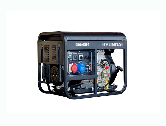 Hyundai DHY7500LE / 1 ph - Hyundai DHY7500LE-3 / 3 ph